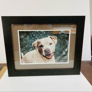 Custom Framed Dog Photo